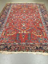 antico-swiss Beautiful Antique indoHERIZI rug 7`3 x 10` ft
