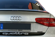Audi a5 Coupe tuning New alerón trasero labio Carbon look slim LIP becqeut 8t3 8f7