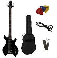 E-Bass-xb500, heavy, con accesorios, gigbagtasche, cinturón de seguridad, 3xpik, cable, by MSAN