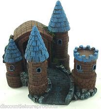 Aquarium Castle Towers & Archway Fort Ornament Fish Tank Decoration #1240S