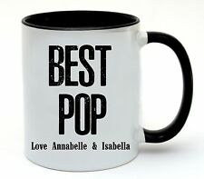Best Pop Ceramic Coffee Cup Mug Personalised Birthday Fathers Day Gift Present