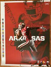 Arkansas Razorbacks SEC Football 2019 Schedule Poster 19x27 RB Rakeem Boyd Hogs