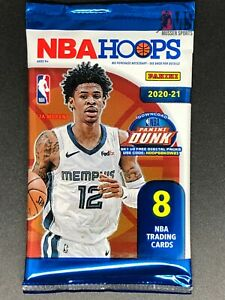(1) Blaster Pack 2020-21 Panini NBA Hoops Basketball Factory Sealed