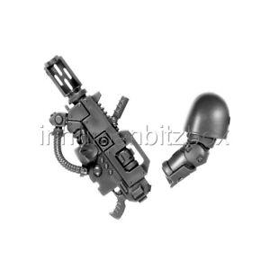 SPA12 BRAS GAUCHE FUSEUR (INCOMPLET) ERADICATOR WARHAMMER 40000 BITZ 18-19