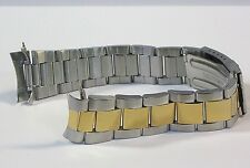 OYSTER TWO TONE WATCH BAND BRACELET STAINLESS FOR MEN ROLEX 20MM TOP QUALITY!