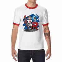 I AM Groot and Rocket Raccoon Men's T-Shirt Ringer Short Sleeve tee tops shirts