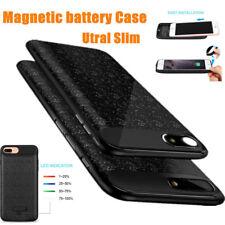 Coque Batterie Banque pour iPhone 6/6s/7 plus Rechargable Magnétique Ultra Slim