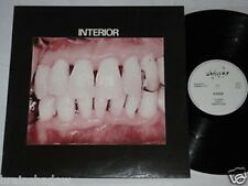 INTERIOR same 6 Track LP Plurex Rec. NL 1980 ALTERNATIVE ROCK