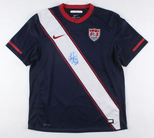 "Landon Donovan Signed Team USA Nike Jersey Inscribed ""USA"" (JSA COA)"