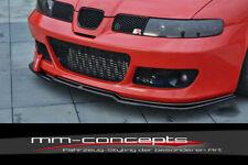 CUP Spoilerlippe für Seat Leon Cupra Bj. 02-05 MK1 Front Lippe Schwert Ansatz V1