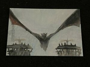 Game of Thrones Iron Anniversary Hand Drawn SketchaFEX Sketch Card Westley Smith