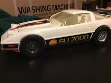 Vintage Large Processed Plastic Co. Shell SU 2000 Corvette Race Car Some Damage