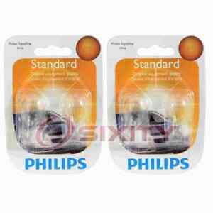 2 pc Philips Stepwell Light Bulbs for Jeep Commander Grand Cherokee Liberty th
