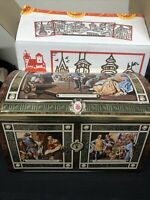 E. Otto Schmidt Vtg NUREMBERG Large Tin Box Chest West Germany