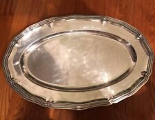 CHRISTOFLE SILVERPLATED TRAY MARKED #1873208