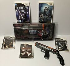 Nintendo Wii RARE Resident Evil -Darkside & Umbrella Chronicles Magnum + 5 Games