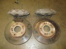 JDM Nissan 300zx TT Front Brake Iron Calipers Rotors 280x30mm 240sx S13 S14 R32