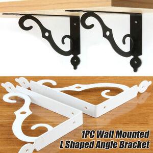 1Pair Wall Mounted L Shaped Angle Bracket Multifuntional Brace S
