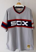 Mitchell & Ness White Sox CARLTON FISK Jersey 50th All Star Game 1983 Gray 3XL