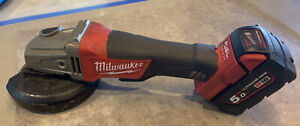 "Milwaukee 18v Li-ion Brushless Fuel125mm 5"" Angle Grinder M18CAG125XPD"