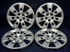 "TOYOTA COROLLA 14-16 16"" 14 SPOKE SILVER WHEEL COVERS / HUBCAPS - SET OF 4 - OEM"