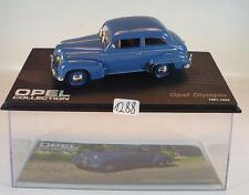 Opel Collection 1/43 Opel Olympia blau 1951 - 1953 in Plexi Box #1288
