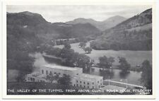 Perthshire; The Valley of the Tummel From Above Clunie Power House PPC By White