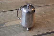 Antique 1800s William Hutton and Sons Silverplated Sugar Jar
