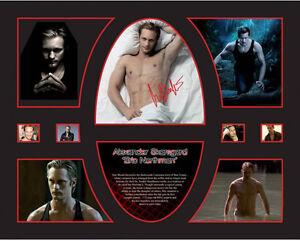 New Alexander Skarsgard Signed Limited Edition Memorabilia Framed