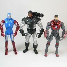 Marvel Legends MCU 2005 ToyBiz War Machine 2006 Ultimate Iron Man 2008 Patriot