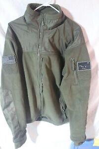 Alaska Condor 601 Alpha Super Fine Fleece Green Military Hunting Jacket XXL