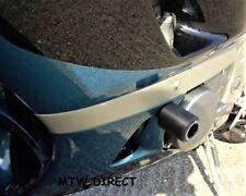Kawasaki ZZR600 D & E All Years R&G Racing black classic crash protectors bungs