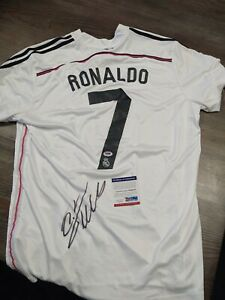 CHRISTIANO RONALDO Signed Autographed Auto Real Madrid Jersey PSA/DNA