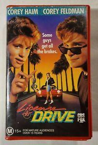License to Drive BETA 1988 Comedy Greg Beeman Corey Haim CBS FOX Video [BETAMAX]