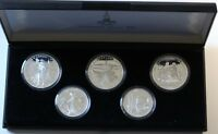1980 USSR Russia Olympics Silver Proof Coins 5 & 10 Rubles GEM FDC RARE