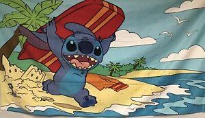 Disney's Stitch Beach Pool Towel New With Tags  60x34