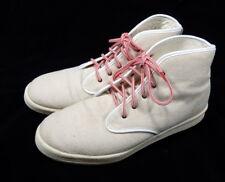 Mens Adidas Originals Ransom Canvas High Tops Tan Beige Size 13