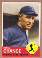 Frank Chance '08 Chicago Cubs Monarch Corona Diamond Collection #20
