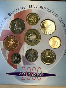 2000 Great Britain Royal Mint Millennium Coinage** Original Packaging