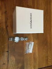 Armani Womens Silver Watch