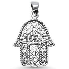 Kabbalah Hand of God .925 Sterling Silver Pendant