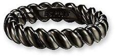 Esprit Damenring Perfect Twist black ESRG 91123.C18 Silberring schwarz Gr. 18