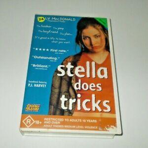 Stella Does Tricks  VHS PAL Kelly Macdonald 1997