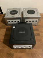 3 -  Nintendo GameCube Console 1 Working  2 Broken All Systems Power On