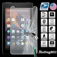 Tempered Glass Screen Protector For Amazon Kindle Fire 7 (7th Gen 2017) Tablet