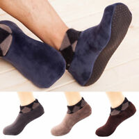 Men Thicken Winter Warm Socks Non Slip Indoor Floor Soft Casual Slipper Hosiery