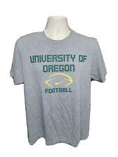 Nike University of Oregon Football Adult Large Gray TShirt