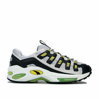 Mens Puma Cell Endura Trainers In Puma White / Blazing Yellow