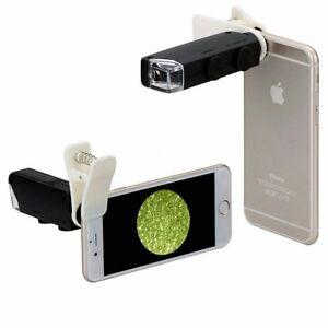 Illuminated Portable Pocket Microscope 60X-100X