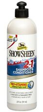 New listing ShowSheen 2 in 1 Shampoo for Dogs Deep cleans hair Strengthen 20oz